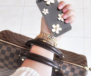 fashion, case, and girl image