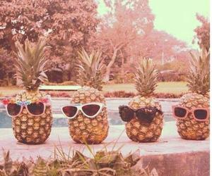 funny, pineapple, and summer image