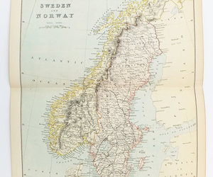 antique map of sweden, antique map of norway, and penissweden image