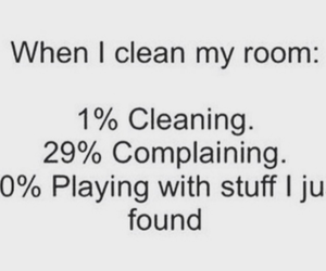 room, funny, and cleaning image