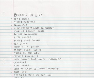 life, reason, and list image