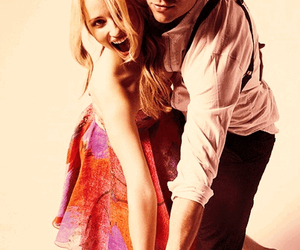dianna agron, glee, and mark salling image