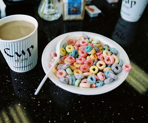 vintage, cereal, and food image