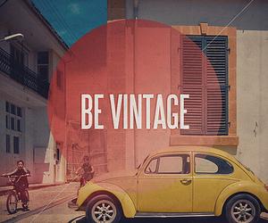 vintage, car, and be vintage image