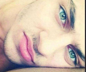 boy, eyes, and green eyes image