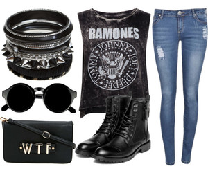 accessories, band, and boots image
