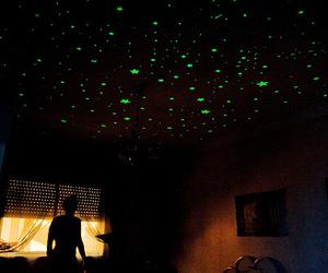 stars, room, and bedroom image