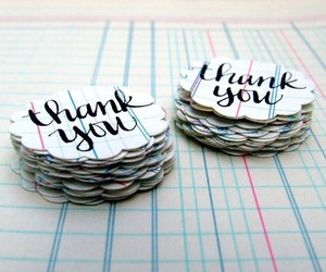 craft and thank you image
