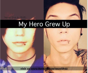 hero, sexy, and andy biersack image
