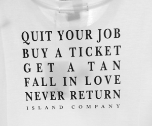 quote, life, and job image