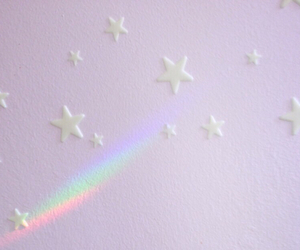 grunge, pastel colors, and stars image