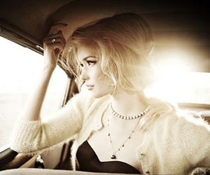 girl, blonde, and vintage image
