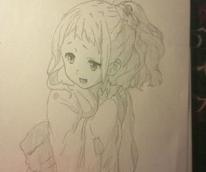 anime, drawing, and sweet image