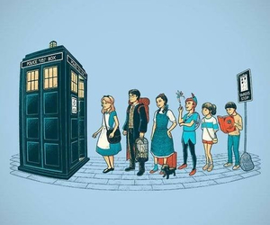 alice in wonderland, artistic, and doctor who image