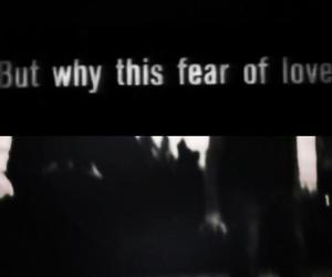 black and white, broken heart, and feelings image