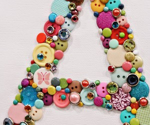 buttons, a, and Letter image