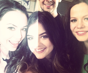 lucy hale, janel parish, and tamming sursok image
