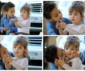 baby, girl, and couple image