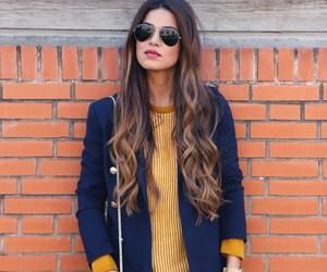 fashion, hair, and negin mirsalehi image