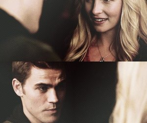 the vampire diaries and steroline image