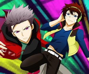nice, murasaki, and hamatora image