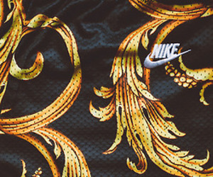 nike, black, and gold image