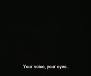 quotes, eyes, and voice image