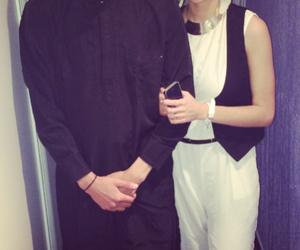 couple, love, and reubeu image