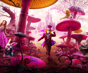 alice, movie, and pink image