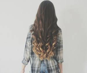 hair, girl, and outfit image