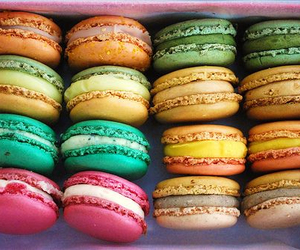 colorful, cookie, and cute image