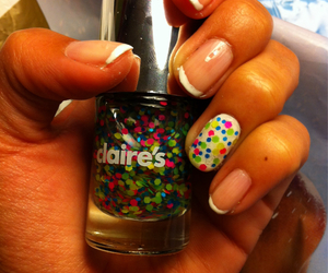 colores, nails, and french manicure image