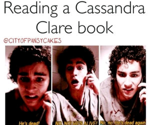 cassandra clare, book, and tmi image