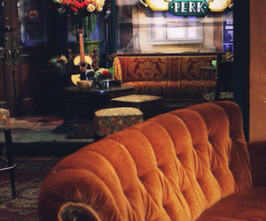 friends, central perk, and f.r.i.e.n.d.s image