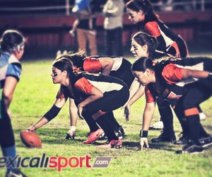 football, game, and girls image