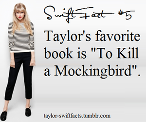 Taylor Swift and book image