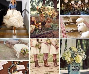 love, country, and wedding image