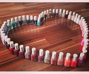 heart, nails, and essie image