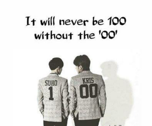 exo, kris, and we are one image
