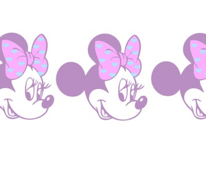 disney, pink, and minnie mouse image