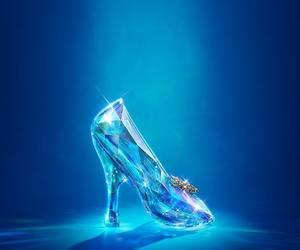 cinderella, disney, and shoe image