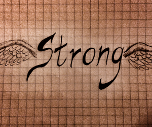 drawing, power, and strong image
