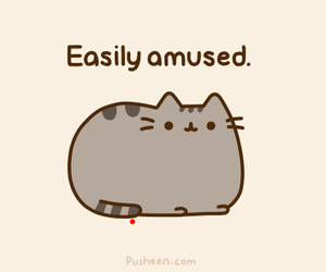 cute, cat, and pusheen image