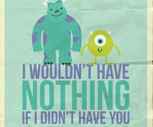 monsters inc, quotes, and disney image
