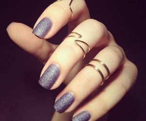 grey, hand, and ring image