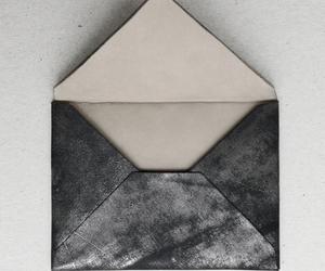 black, envelope, and Letter image