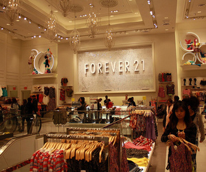 forever 21, nyc, and times square image