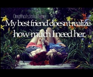 best friends, need, and friends image