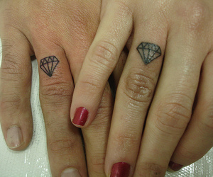 diamond, hands, and rosa image