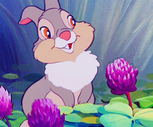 disney, bambi, and thumper image